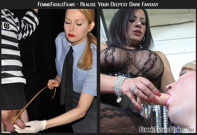 Mistress Eleise and Mistress Real torture slaves