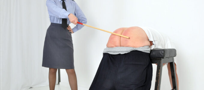 Mistress Eleise de Lacy 100 strokes of the cane in true judicial caning style